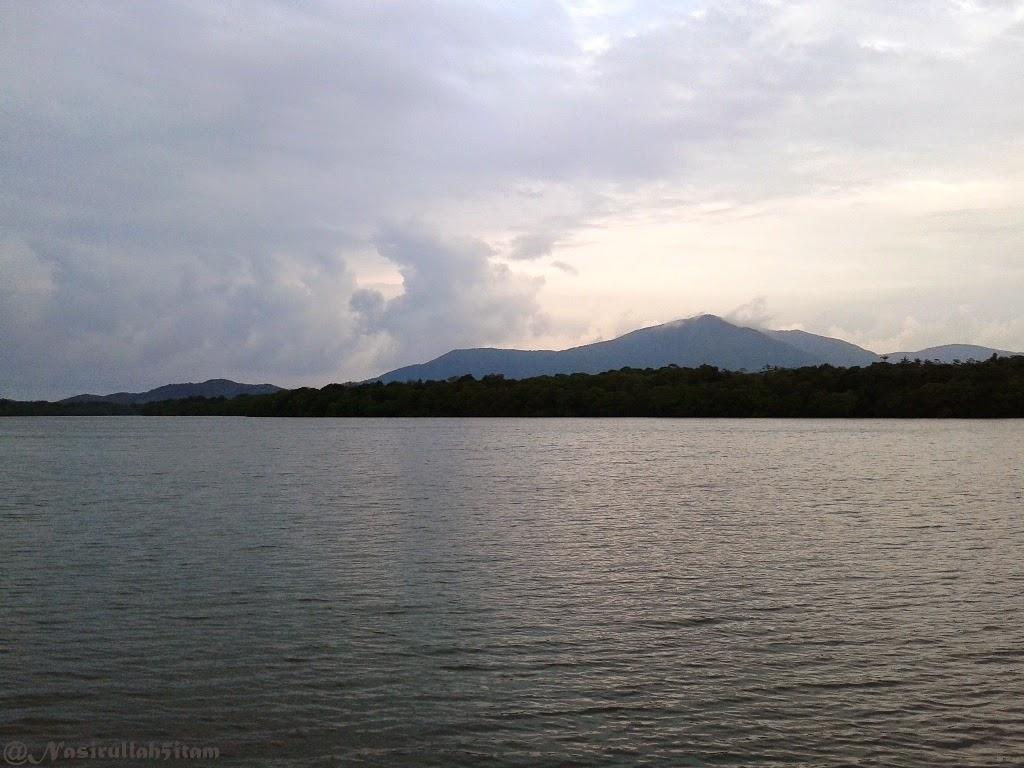 Terlihat gunung tertinggi di Karimunjawa