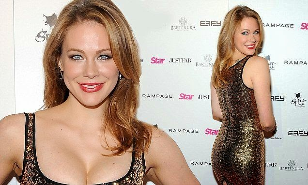 We have to say those fashion statement looked radiant and serene as Maitland Ward attended the Star Magazine event at Los Angeles, USA on Thur.sday, October 9, 2014. And the 37-year-old had managed to find an excellent anatomy show that's really got our head to be puzzled.