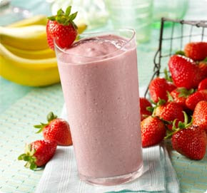 strawberry banana smoothie health summer