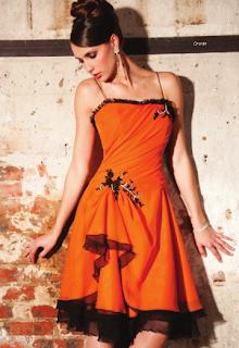 Vestido Rojo corto de NocheVieja 2012