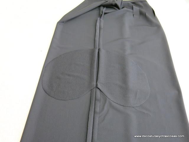 como coser bolsillos en la costura lateral