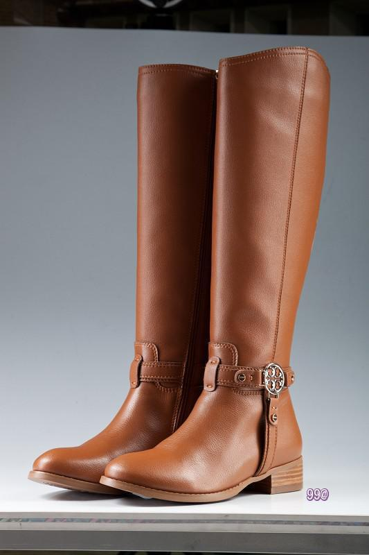 Womens Tall Brown Leather Boots - Cr Boot