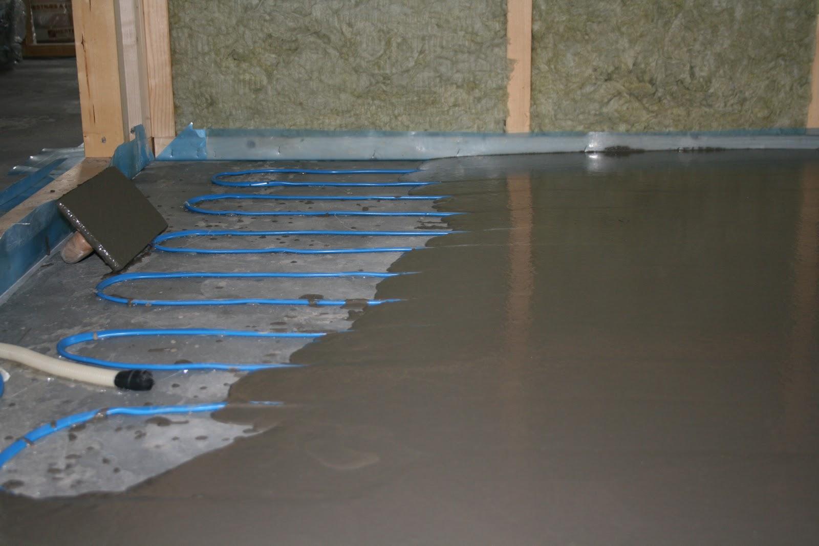 Avrettingsmasse som ferdig gulv