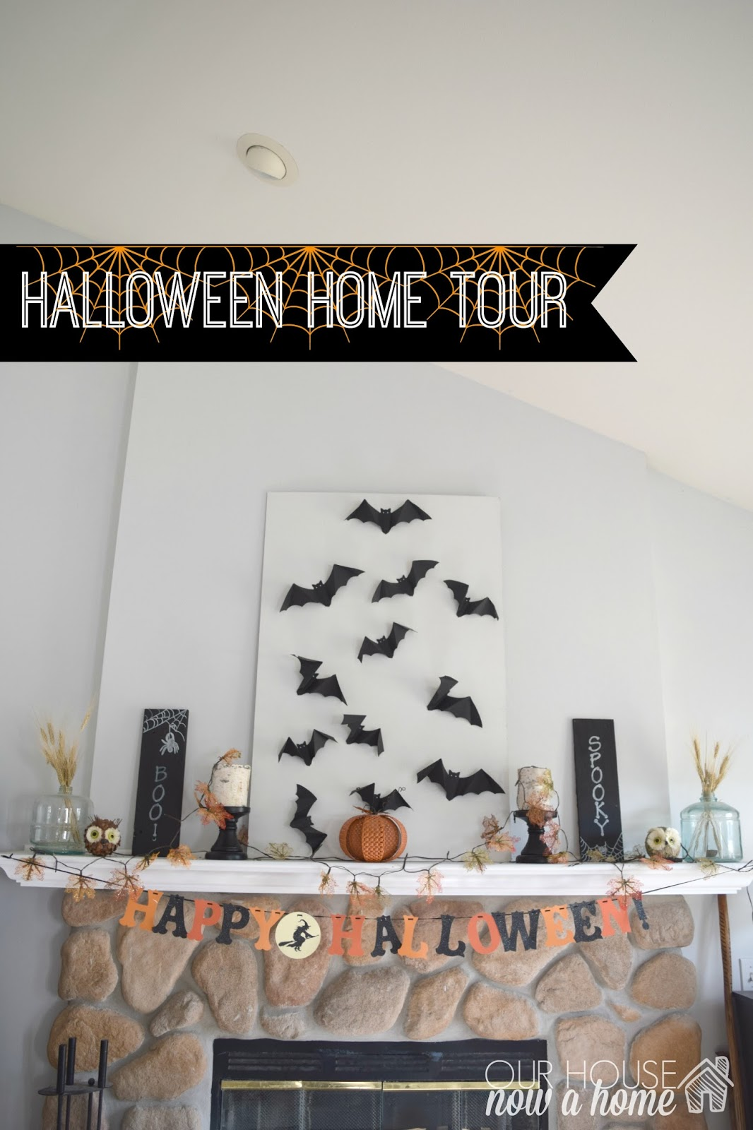 halloween home tour our house now a home