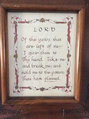 My Senior Prayer