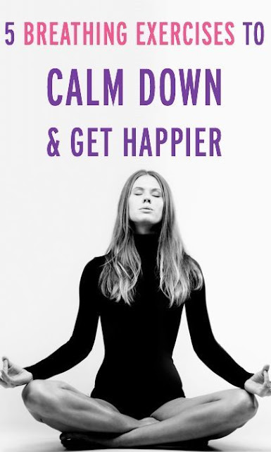 5 Breathing Exercises to Quickly Calm Down & Get Happier