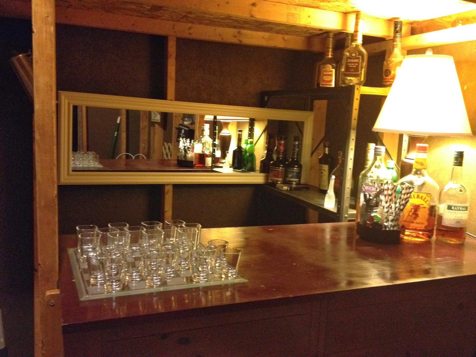 the barshed: shed into bar- the bar