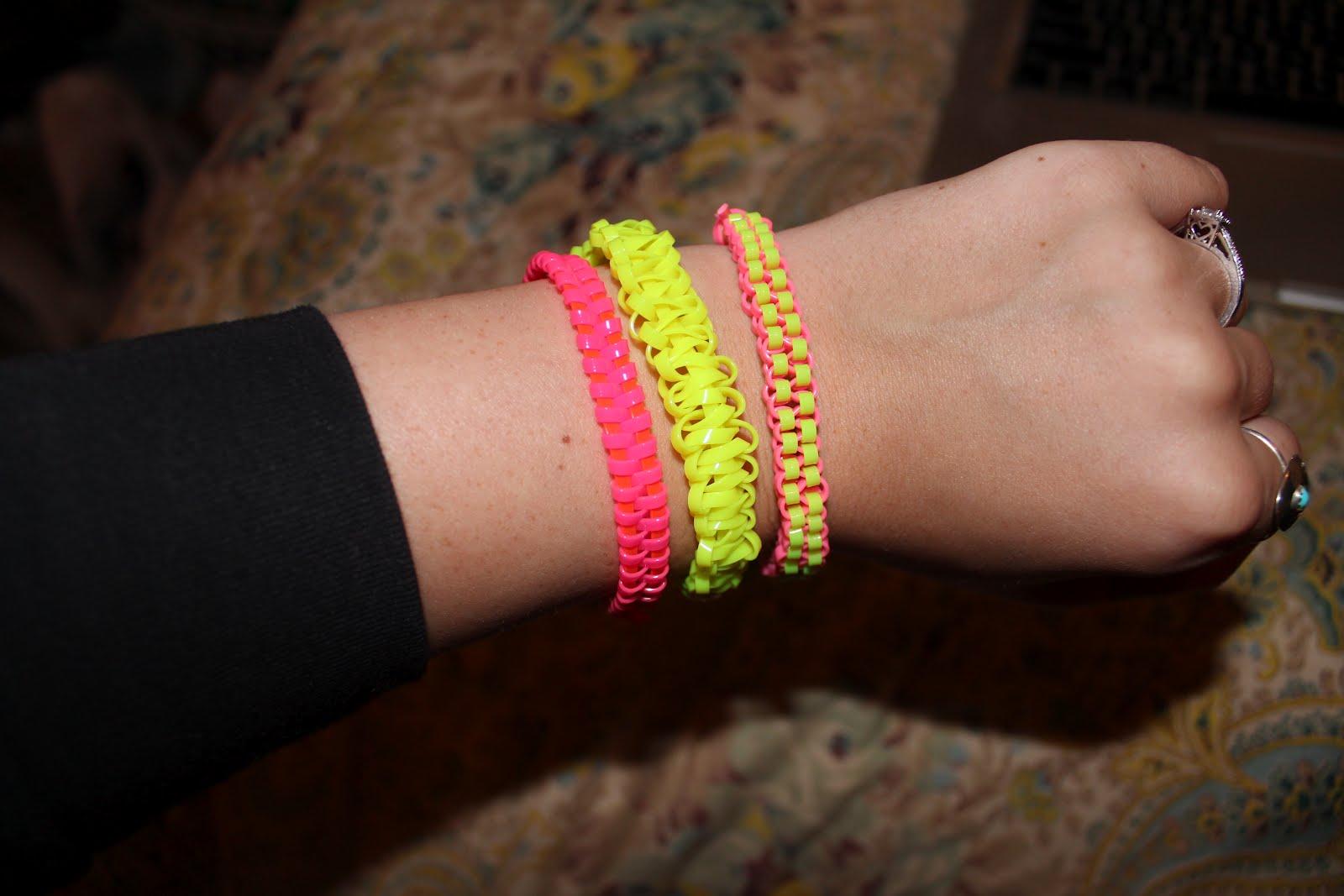 Sincerely Truly Scrumptious Diy Summer Gimp Bracelets