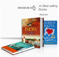 Amazon : Buy Bestseller Books upto 90% off from at Rs.14 with free Shipping :buytoearn