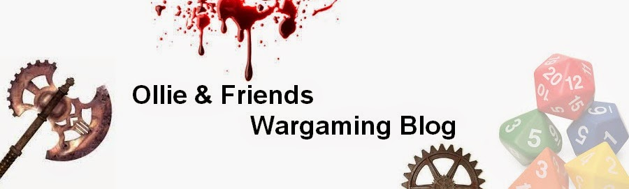 Ollie and friends wargaming blog