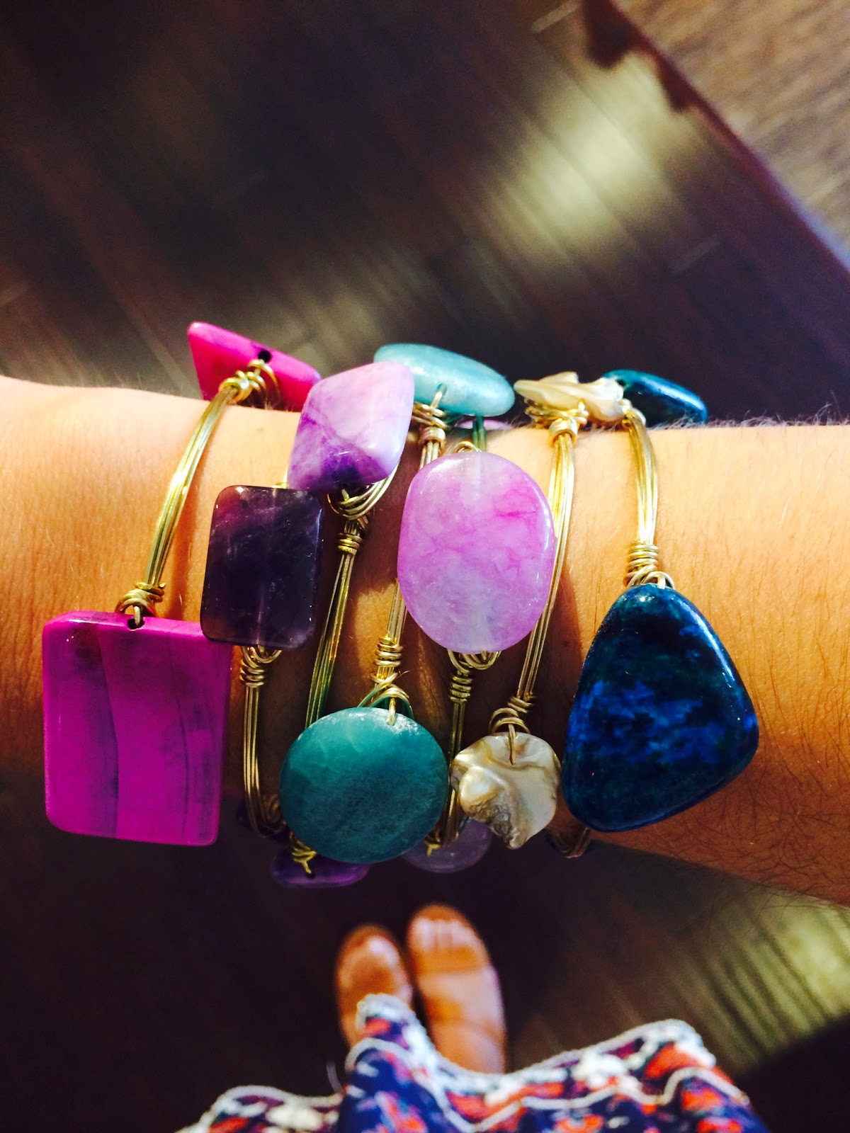 Bluetique Cheap Chic: Arm Party