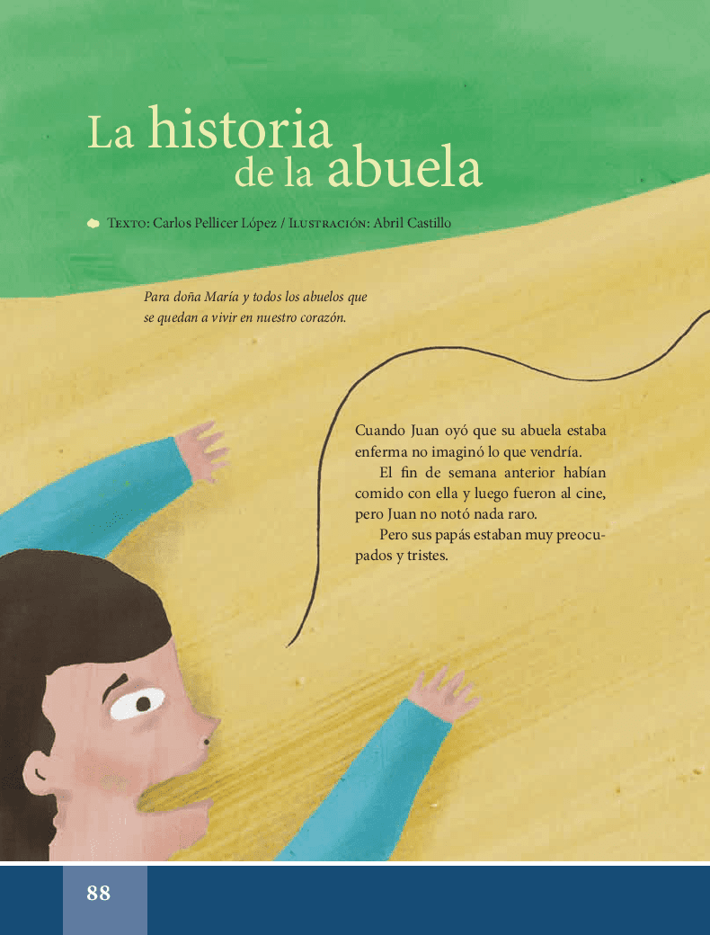 La historia de la abuela - Español Lecturas 6to 2014-2015