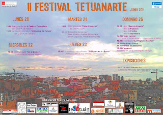 Cartel del II Festival TetuanArte