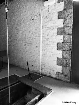 A gallows at Bodmin Jail