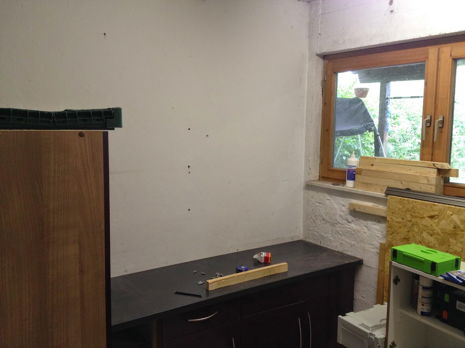 heimwerken diy garagenwerktstatt wandverkleidung teil 1. Black Bedroom Furniture Sets. Home Design Ideas