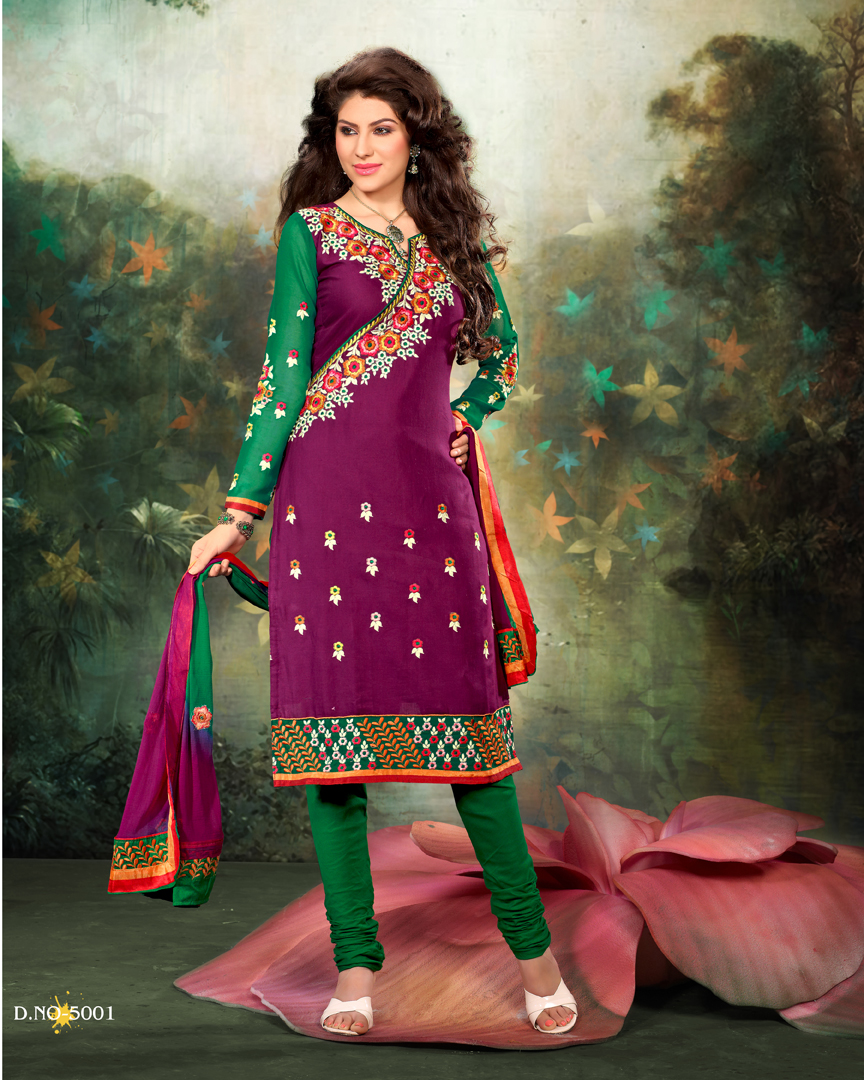 Churidar Anarkali Salwar Suits Designs - Online Buy Kalidar