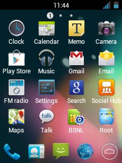 Custom ROM Android Galaxy Y - Jelly Blast V3