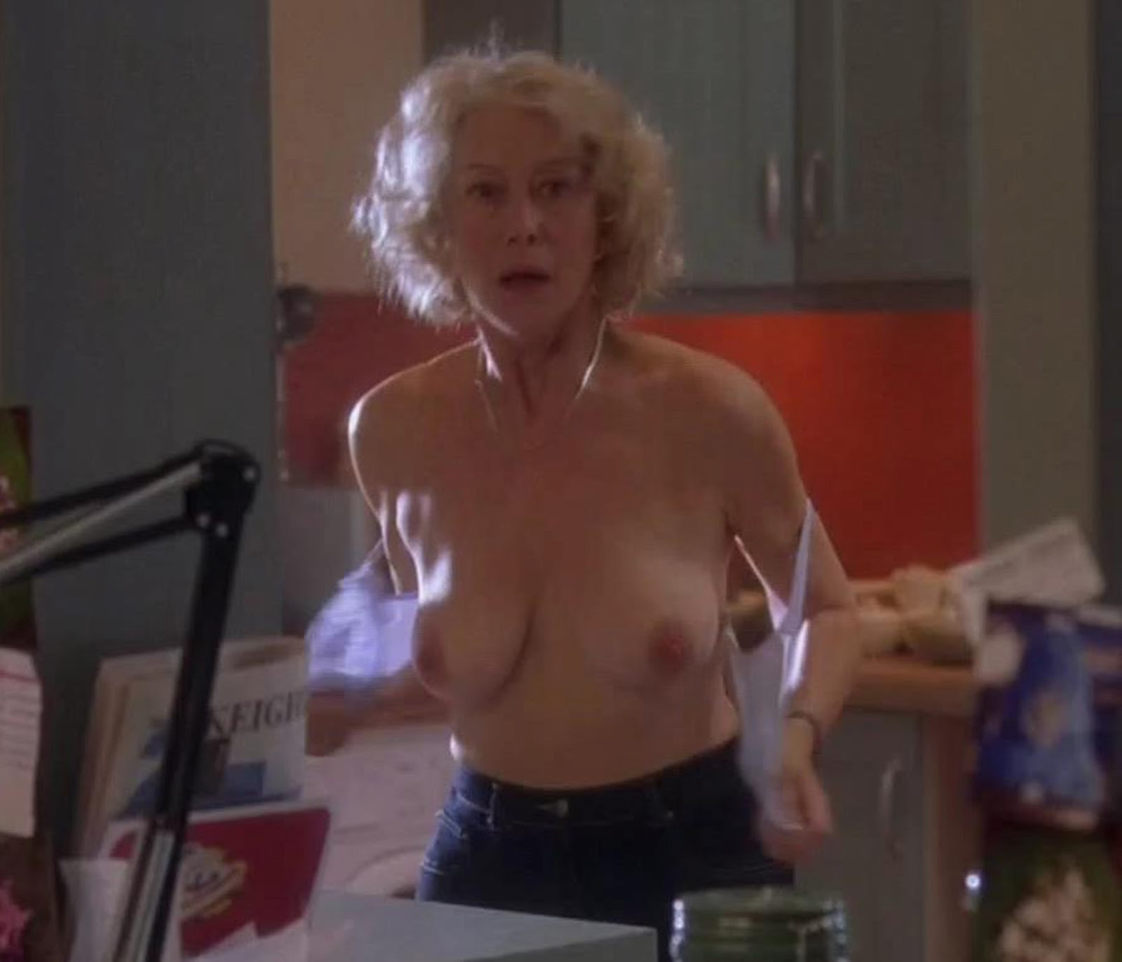 helen mirren boobs