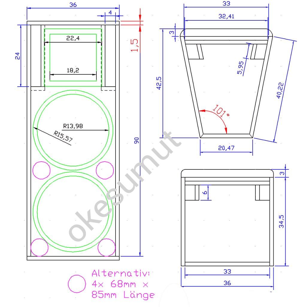 Skema Ukuran Box Speaker 10 Inch Line Array Wiring Diagrams Ring Current Generator Circuit Diagram Telephonerelatedcircuit X2 Haza Musik Rh Hazamusik Com