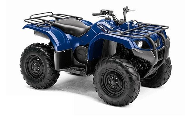 2011 Yamaha Grizzly 350 Auto 4x4 Irs Specifications And