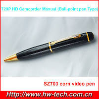 Hd Video Recorder Ball Point Pen Type6