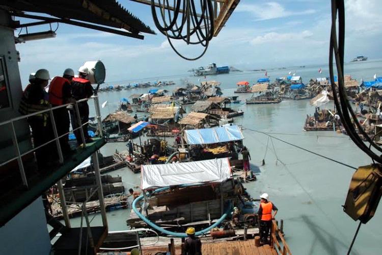 Penambangan timah ilegal Bangka Belitung