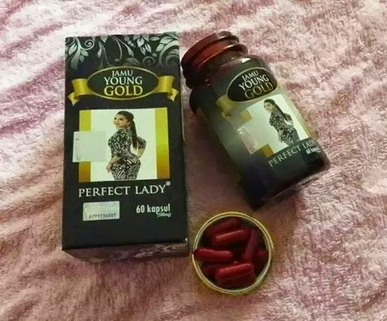 Jamu Young Gold Perfect Lady – Extra Power untuk wanita :)