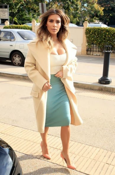 kim kardashian pencil skirt dress