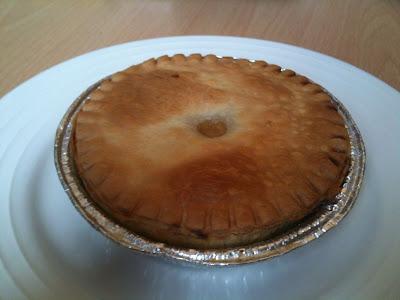 ds gluten free chicken mushroom pie