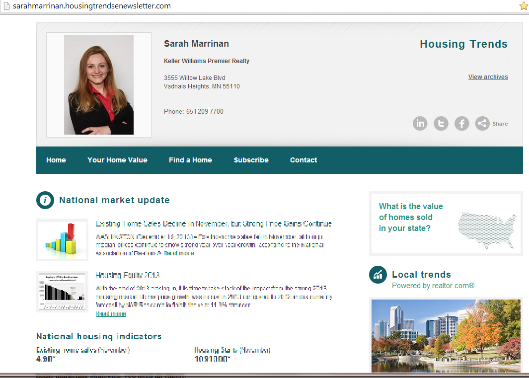 View the Latest National and Local Housing Trends!