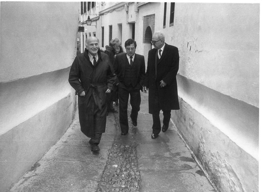 Inauguration de la Calahorra-1983