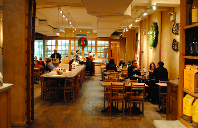 Restaurante Le Pain Quotidien em Nova York