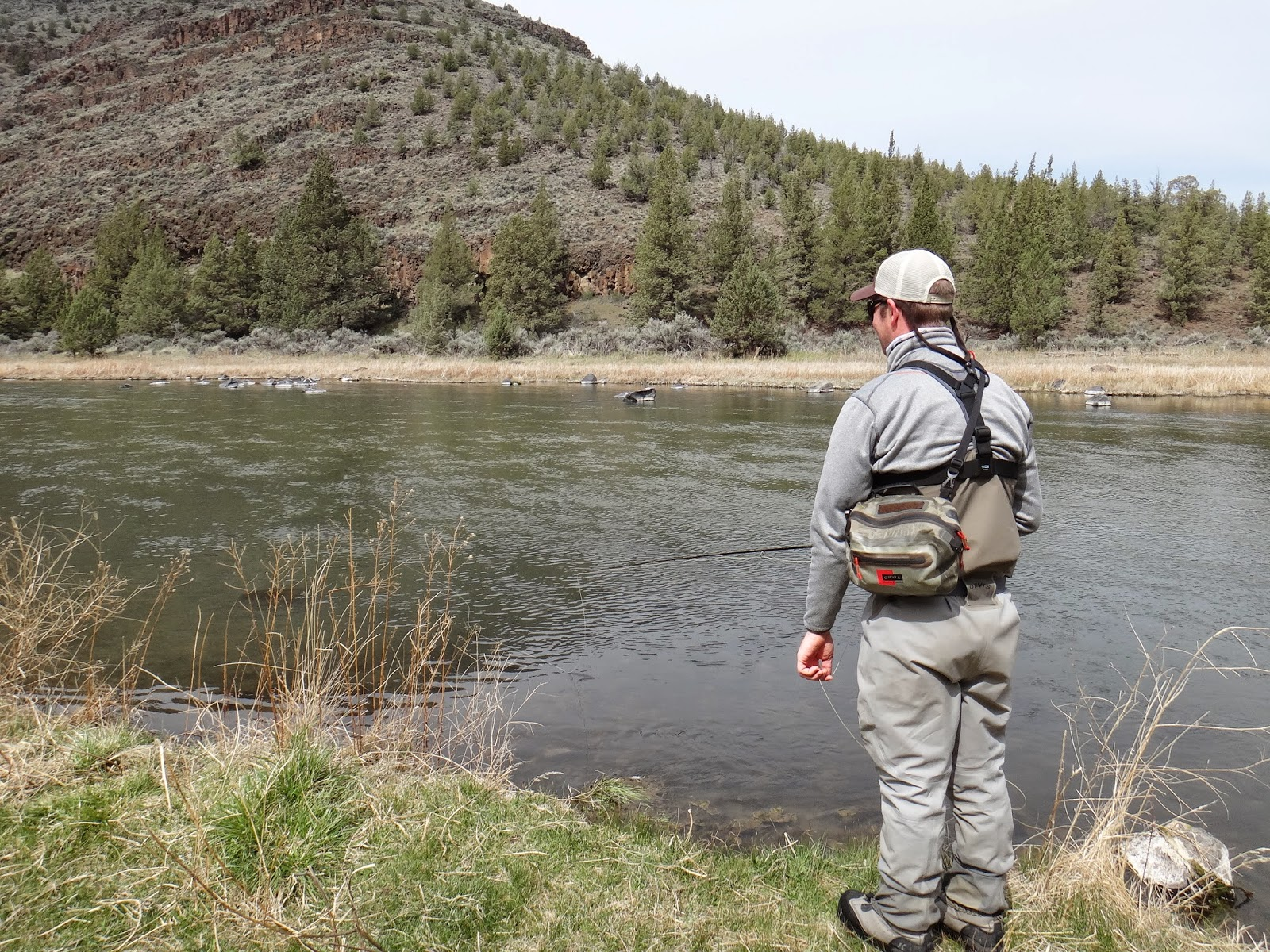 Brian marz 39 s fly fishing oregon blog easter on the crooked for Rising fly fishing