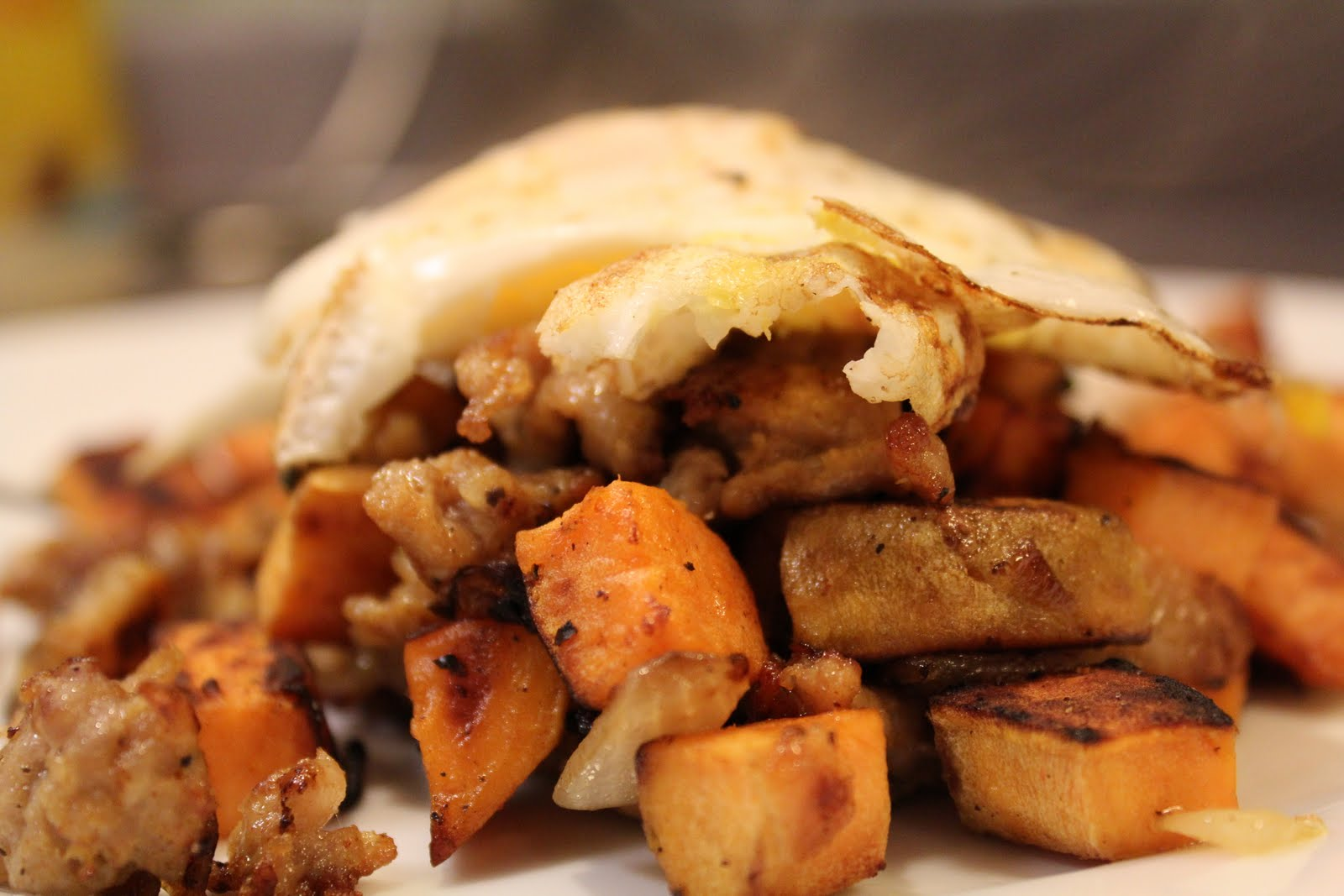 Simply Whole Kitchen: Sweet Potato Hash