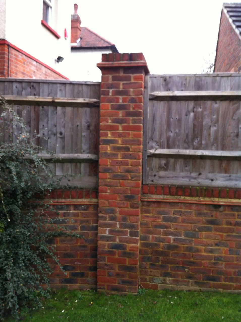 Brick Fence Construction : Brick mood board what to choose for the back garden wall