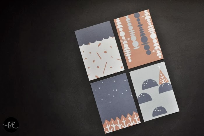 Christmas cards Henrike Schoen