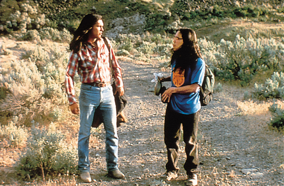 smoke signals essay thomas Although devil in the blue dress, smoke signals, and traffic, are very different films from each other and vastly vary in their subject matter.