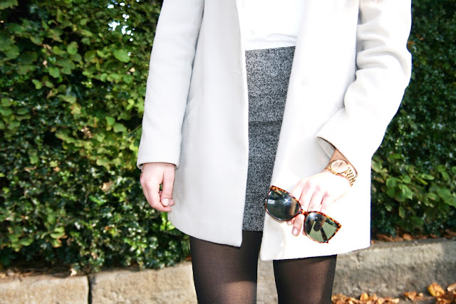 Katherine Penney Chic Blogger Fashion Style Outfit Pretty Preppy Autumn Cute Love Topshop Skirt Ootd