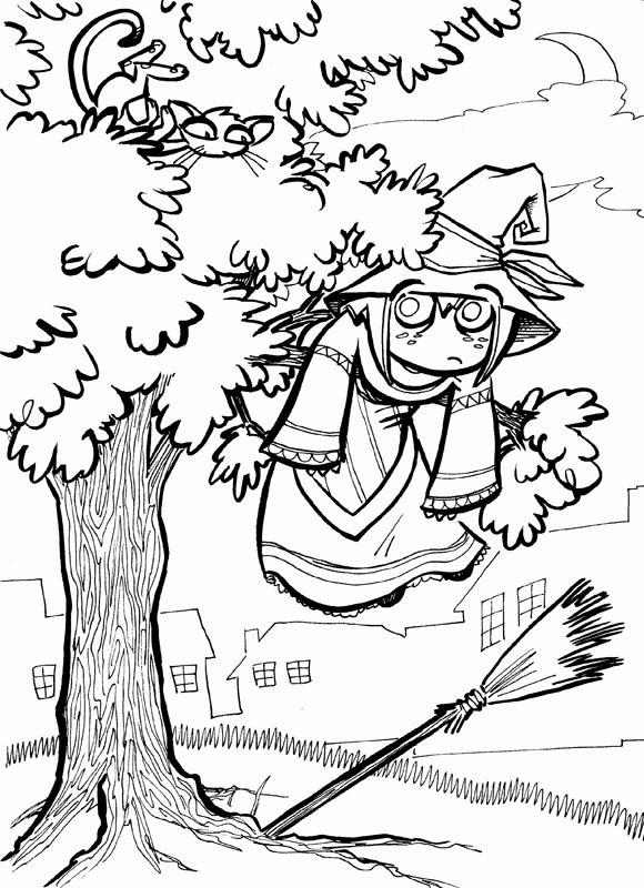 New donna blog disegni di halloween da colorare gratis - Halloween immagini da colorare ...