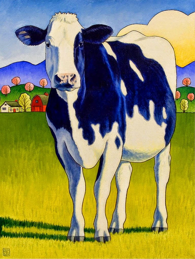 pinturas-modernas-con-vacas