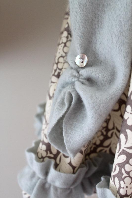 Tutorial: vestido de invierno para niña - yo elijo Coser