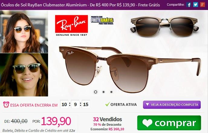 http://www.tpmdeofertas.com.br/Oferta-Oculos-de-Sol-RayBan-Clubmaster-Aluminium---De-R-400-Por-R-13990---Frete-Gratis-959.aspx
