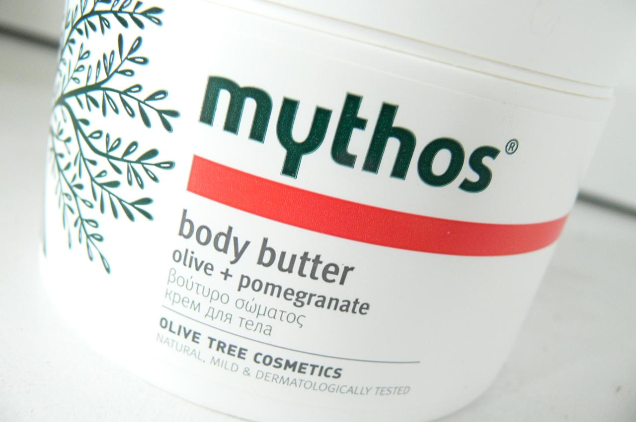 Flax Cosmetics, Mythos, Oliwkowe Masło do Ciała z Granatem