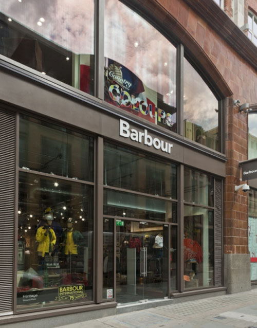 Barbour the Fashion Store for Country Lifestyle