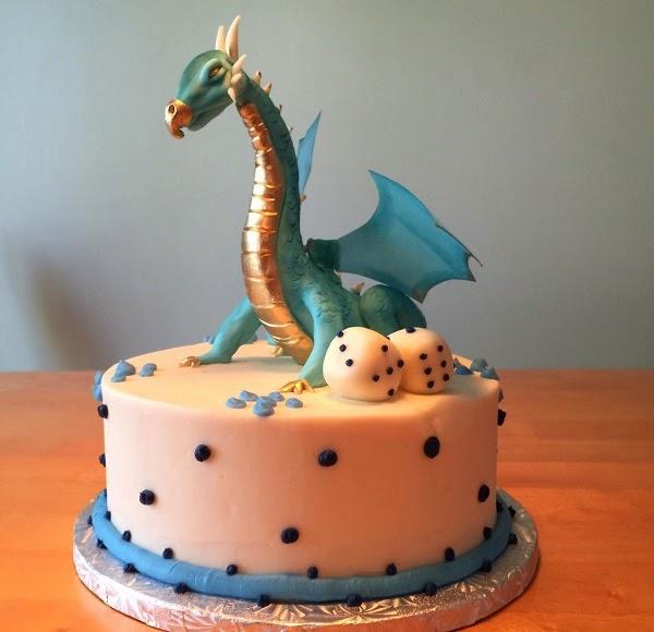 Dragon Birthday Cake Topper