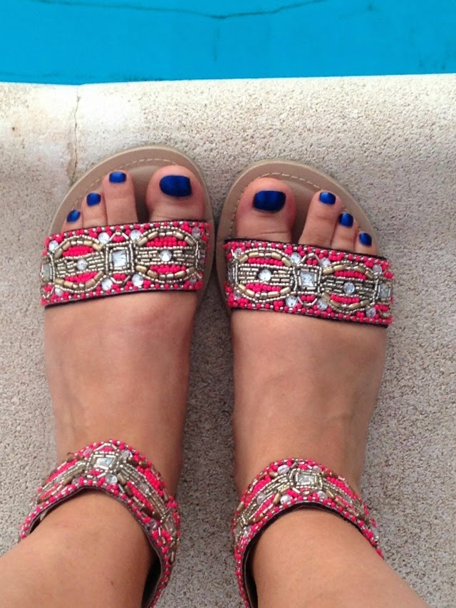 Penneys Embellished Sandals