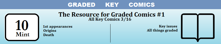 Graded Key Comics