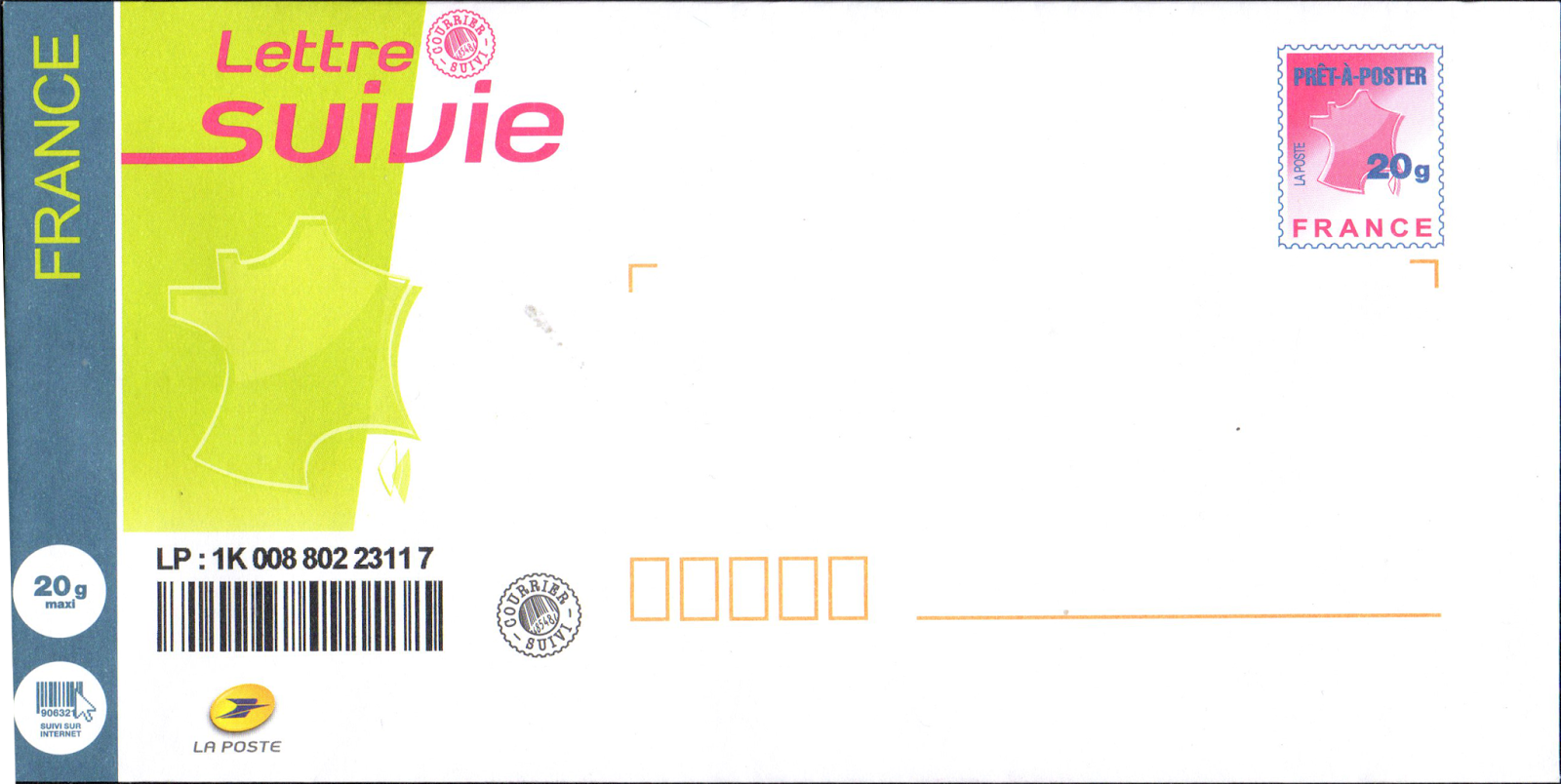 Libre service affranchissement actualit 2015 01 25 - Laposte demenagement suivi courrier ...