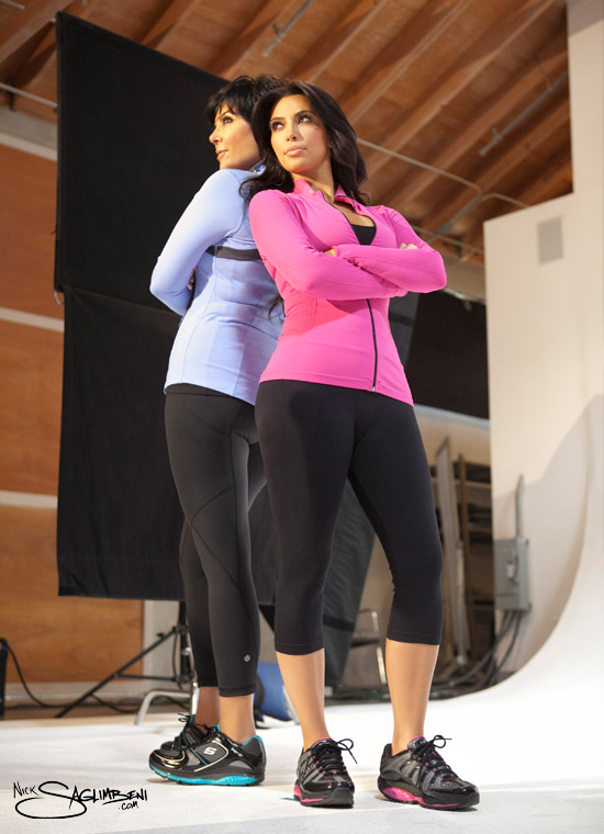 Kim Kardashian 2011 Sketchers Photo Shoot Pictures