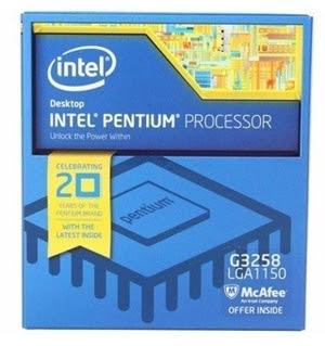 Processador Intel Pentium G3258 pode ser encontrado por cerca de R$ 400,00